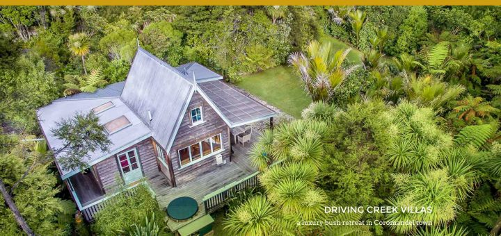 accommodation business website design – Driving Creek Villas